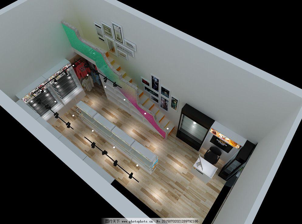 动漫店室内设计俯视图图片