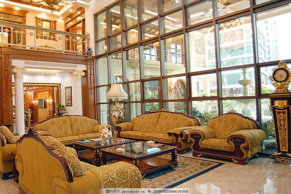 室内设计客厅欧式设计