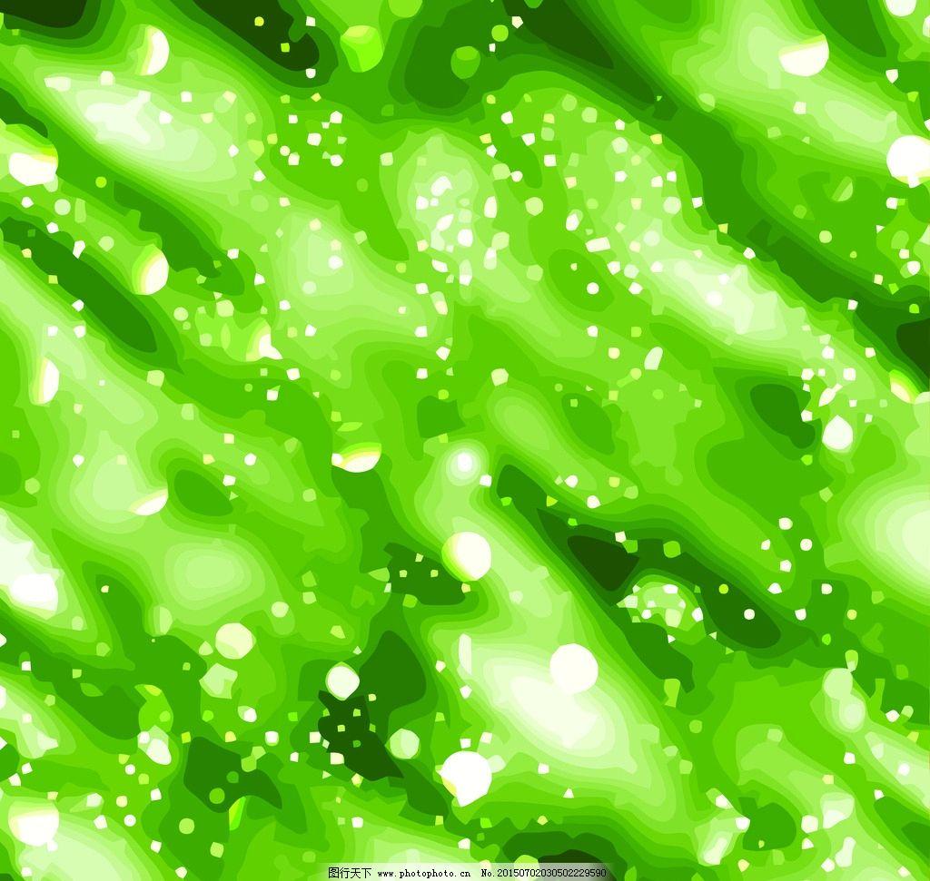 绿色背景图片_卡通设计