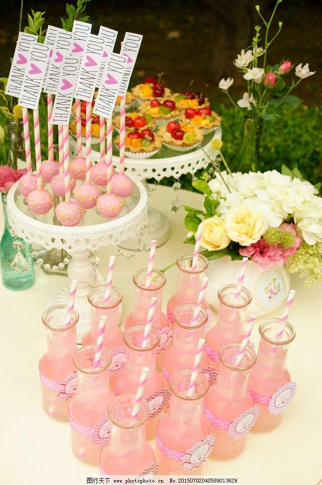 婚礼上的甜点图片_饮料酒水_餐饮美食_图行天下图库