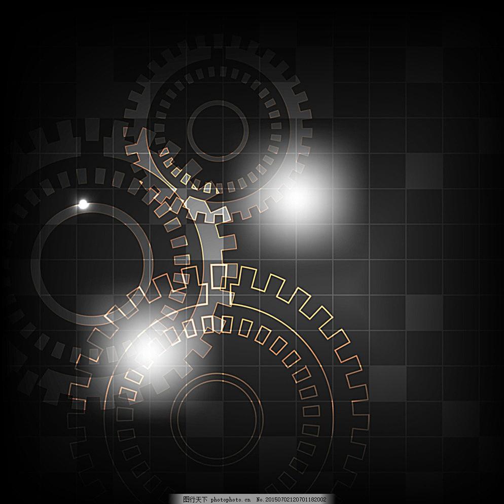科技背景 抽象背景 工业背景 齿轮 时尚背景 质感背景 纹理背景