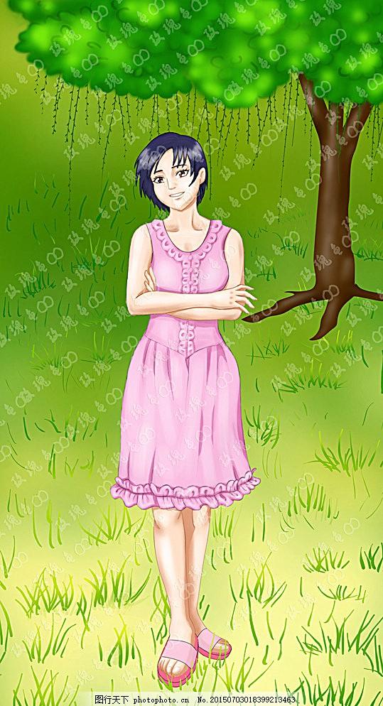 卡通美女美少女 图片下载 卡通美女 美少女 卡通少女 漫画 人物 美女
