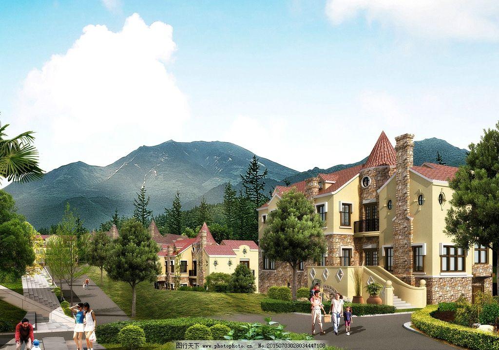 别墅外观图片,建筑造型 别墅设计 半山别墅 豪华别墅