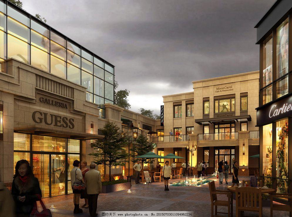 100dpi jpg 环境设计 建筑设计 幕墙 欧式 商业 商业建筑 设计 商业建