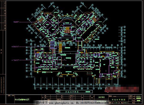 医院装修施工图图纸