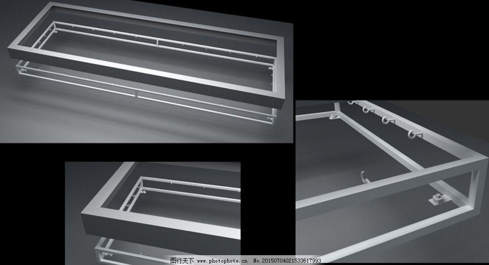灯箱钢架 灯箱结构图 灯箱框架钢构 灯箱内部框架 钢结构框架 大型