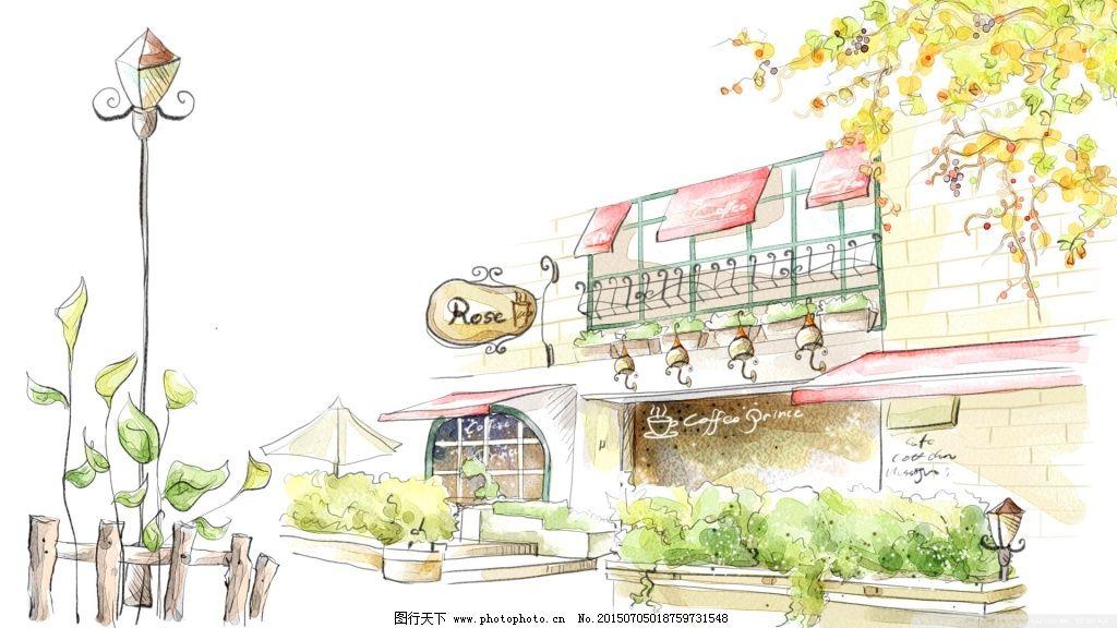 漫画商店 漫画商店免费下载 路灯 手绘 图片素材 卡通动漫可爱图片