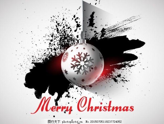 随着垃圾背景摆设圣诞卡 圣诞快乐 冬天快乐 圣诞背景 庆祝 节日