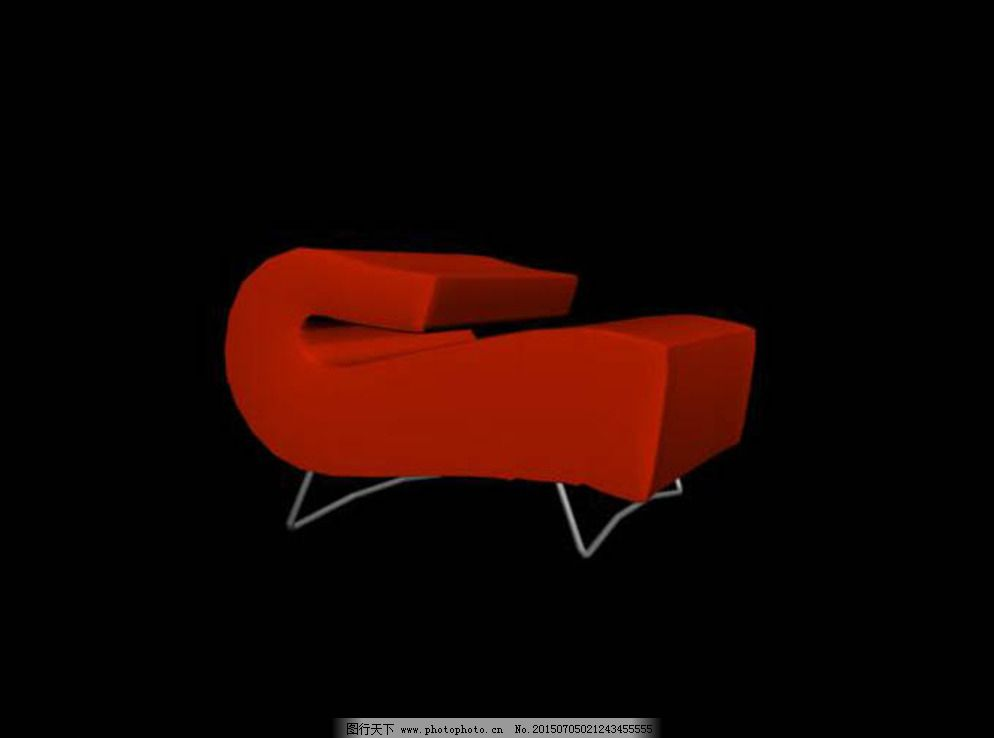 沙发 模型 家具 设计 3d设计 室内模型 max 3d模型素材 室内场景模型
