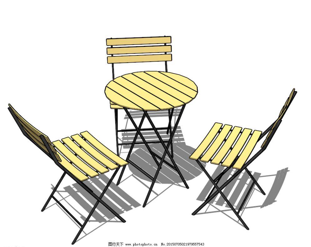 景观小品椅子手绘线稿