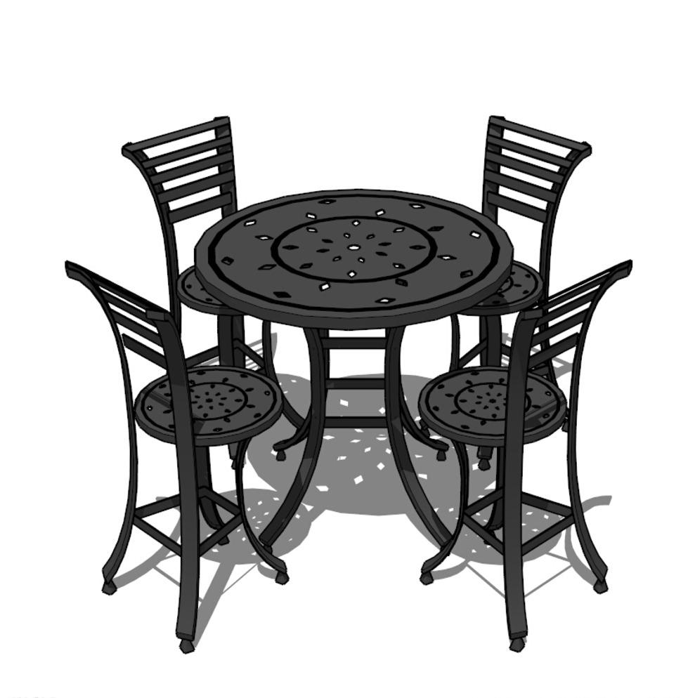 椅子 长椅 景观模型 沙滩椅子 室外模型 景观小品 室外椅子 街道小品