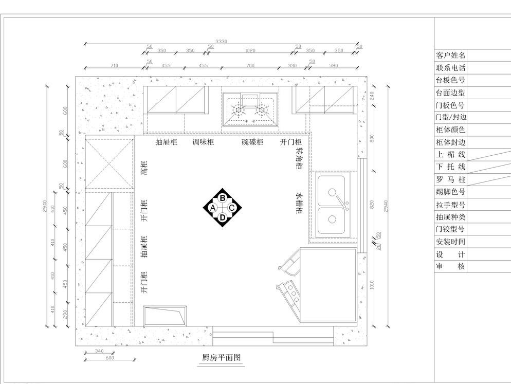 法式 环境设计 简欧 立面图 美式 平面图 设计 欧式厨房 简欧 美式