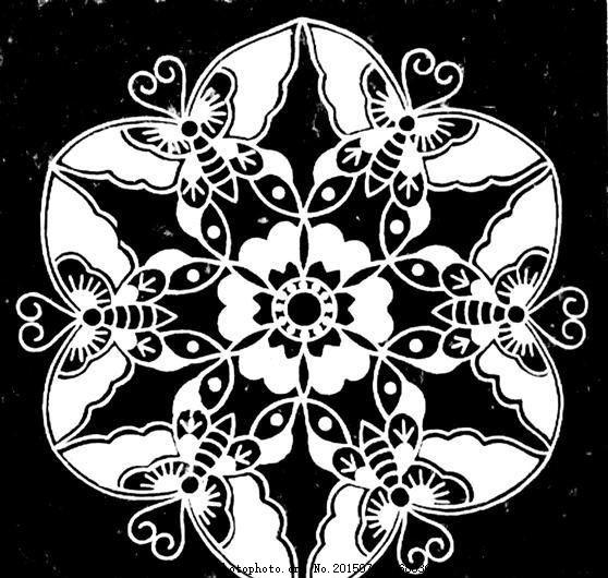 昆虫纹样 传统图案 设计素材 动物图案 装饰图案 书画美术     黑色 j