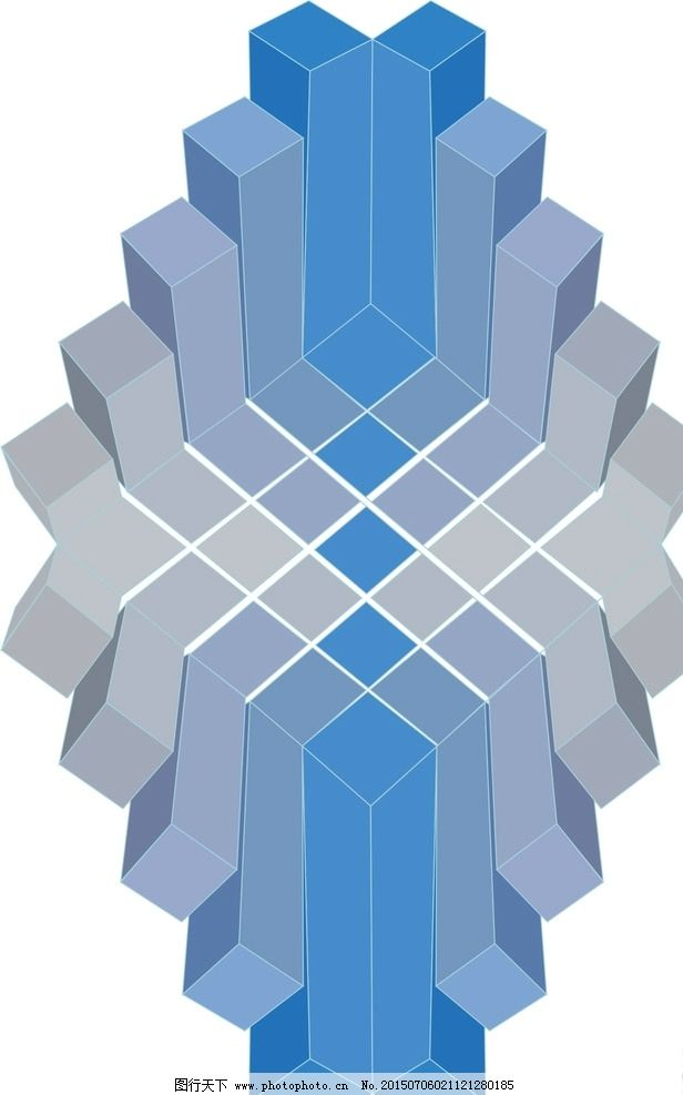 矛盾空间 空间 矛盾 3d 胡国兴 艺术 设计 方块 移动 正方形 错觉
