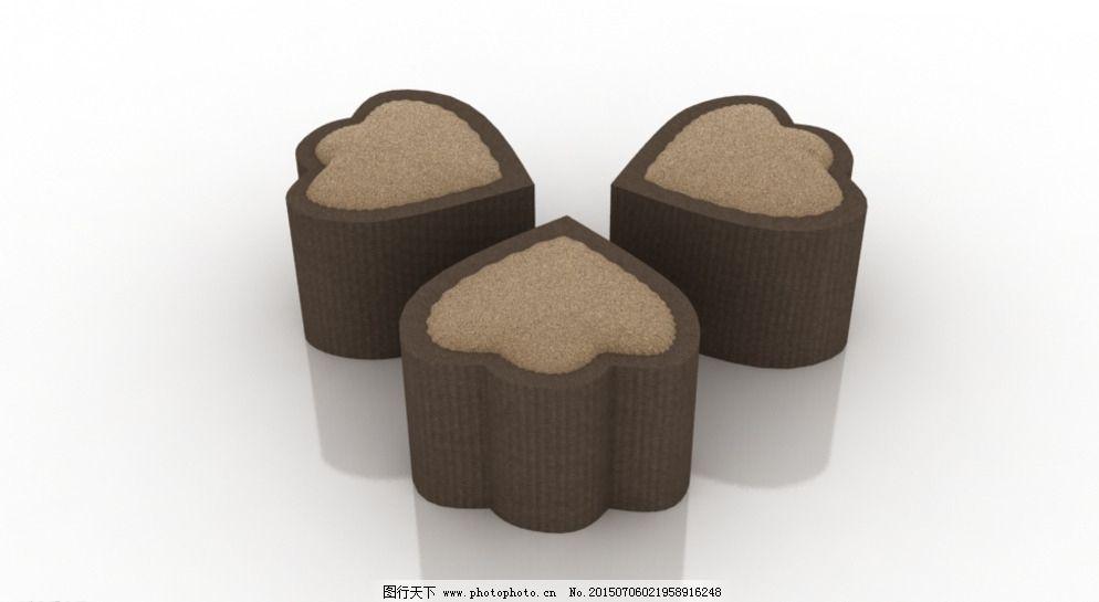 凳子图片免费下载 3d设计 max 创意 凳子 动物脚印 可爱 软包 设计