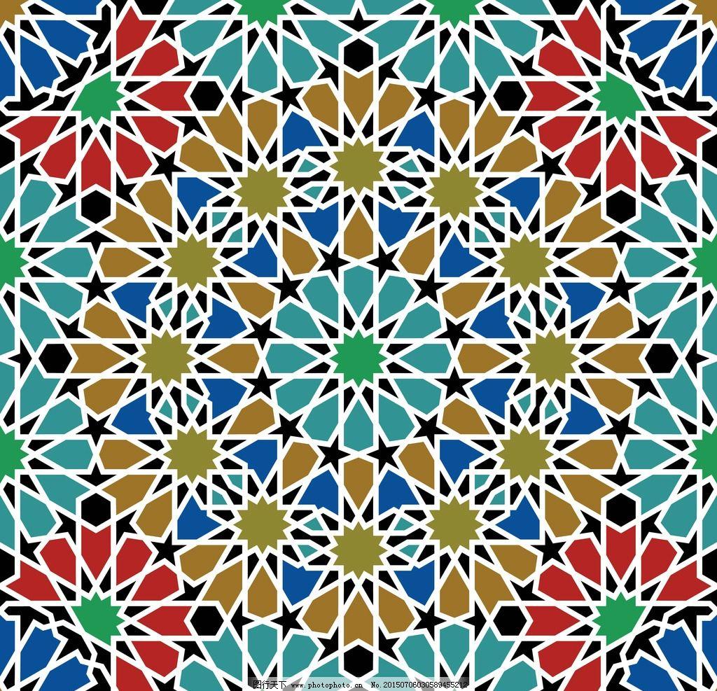 花纹 花边 边框 对称花纹 装饰花纹 民族图案 古典花纹 复古 植物花纹