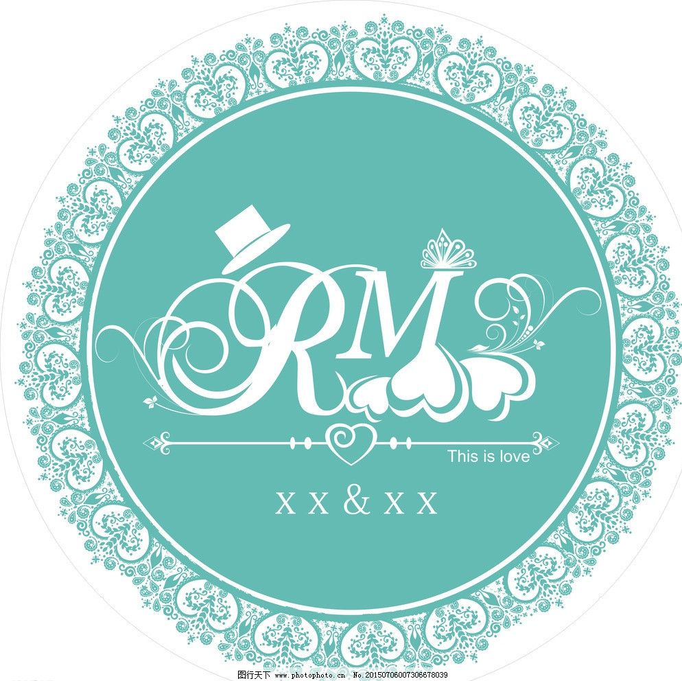 婚礼模板下载 婚礼 主题 logo 结婚 天鹅 祝福墙 底纹 欧式花纹 欧式