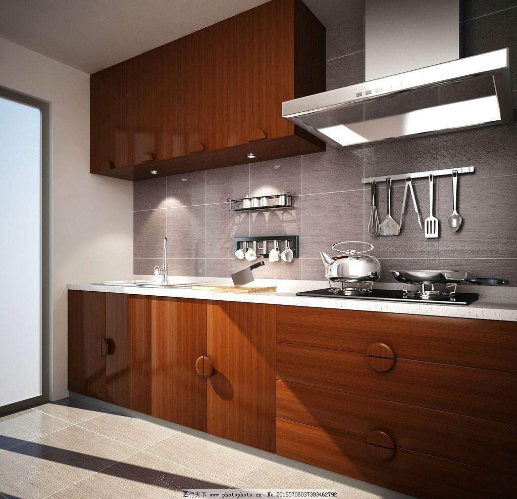整体厨房 橱柜效果图 抽油烟机 油烟机效果图 厨房效果图 灶台 灶台效