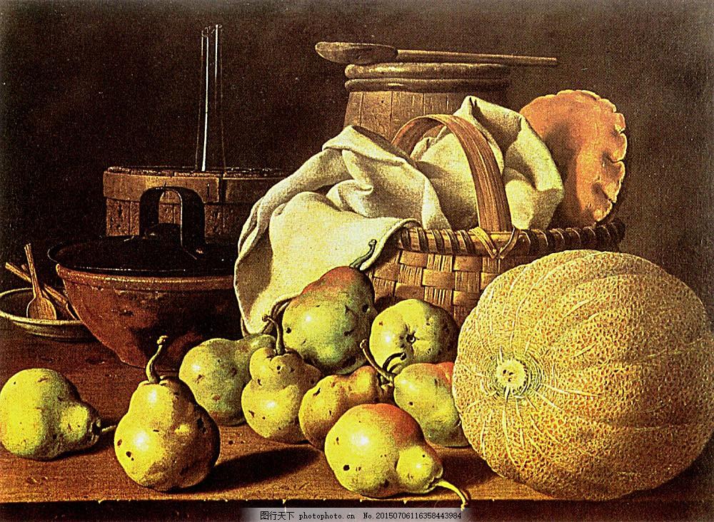 手工油 画艺术图片 静物油画 油画 绘画 艺术 文化艺术 食物 水果 梨
