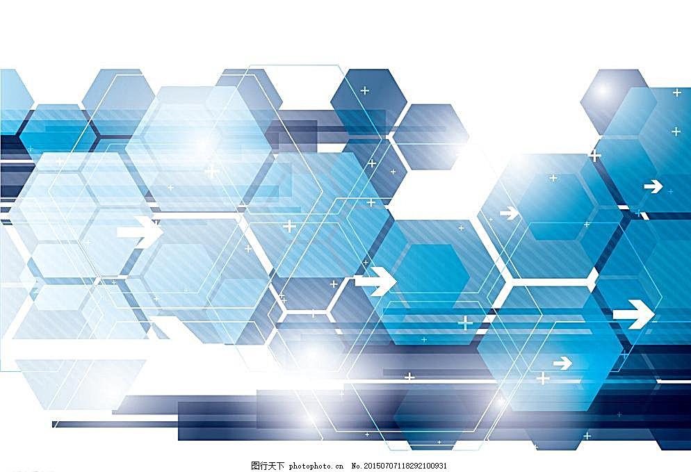 科技背景 线条 电商 网络 虚拟 电路 色块 渐变 商务金融 商业插画