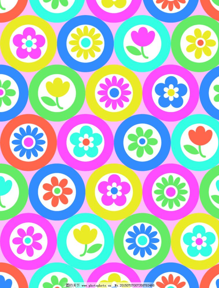 彩色圆圈图片