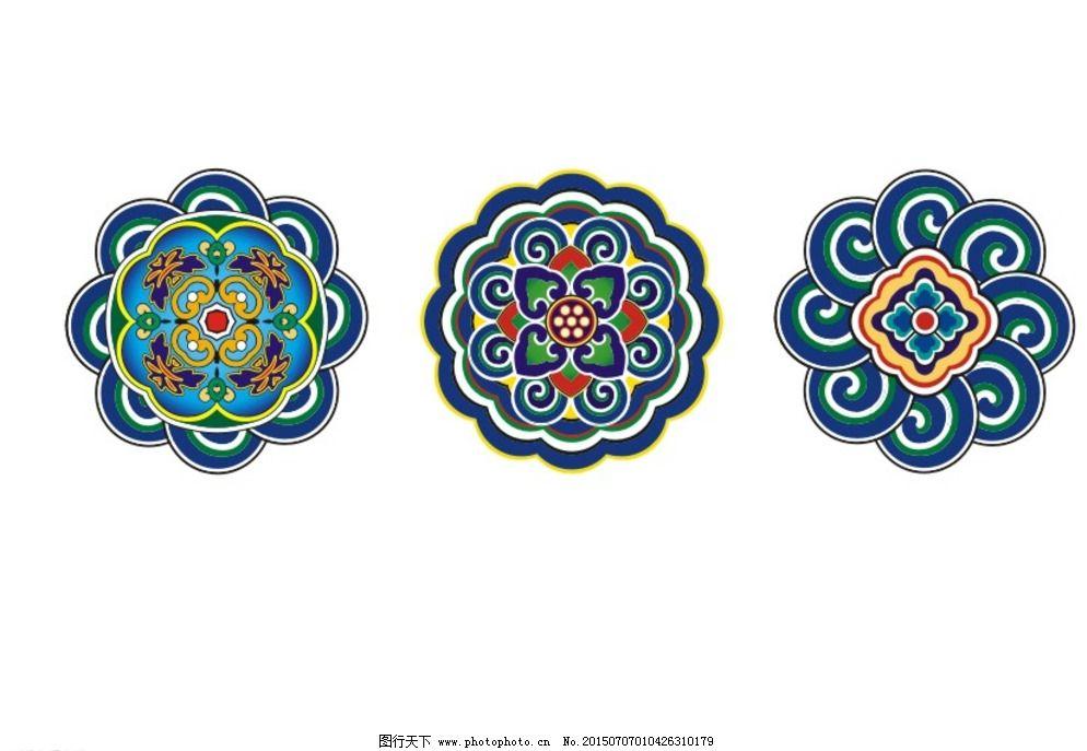 cdr 传统文化 雕梁画栋 古代建筑 古典 广告设计 花纹 民俗 牌坊 牌楼