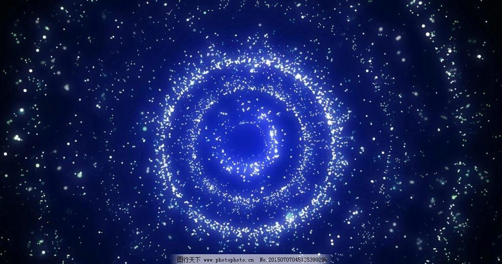 星空图画彩铅步骤