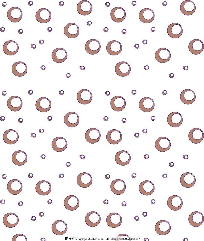 卡通气泡圈圈图片