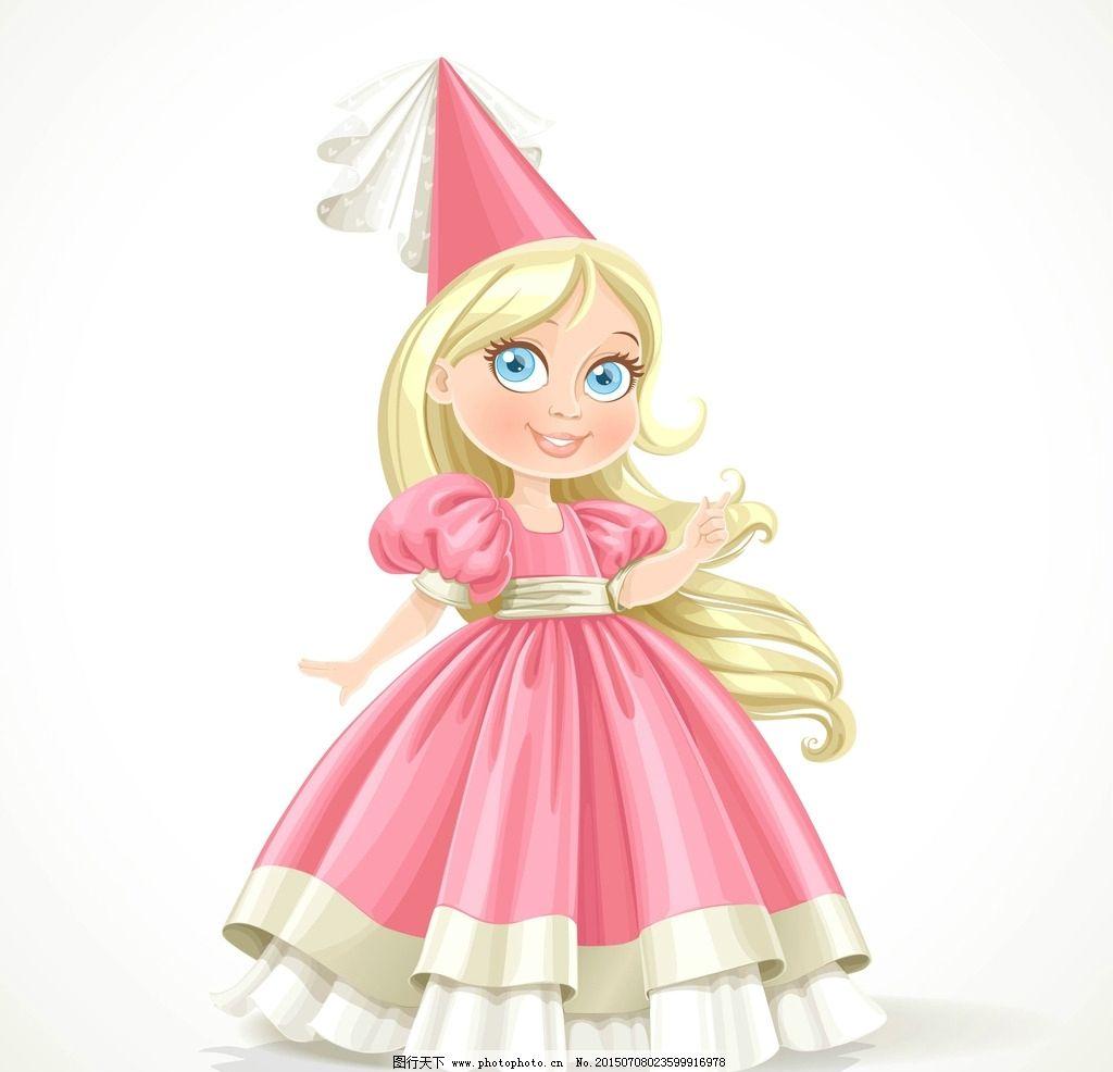 小姑娘 裙子 粉色