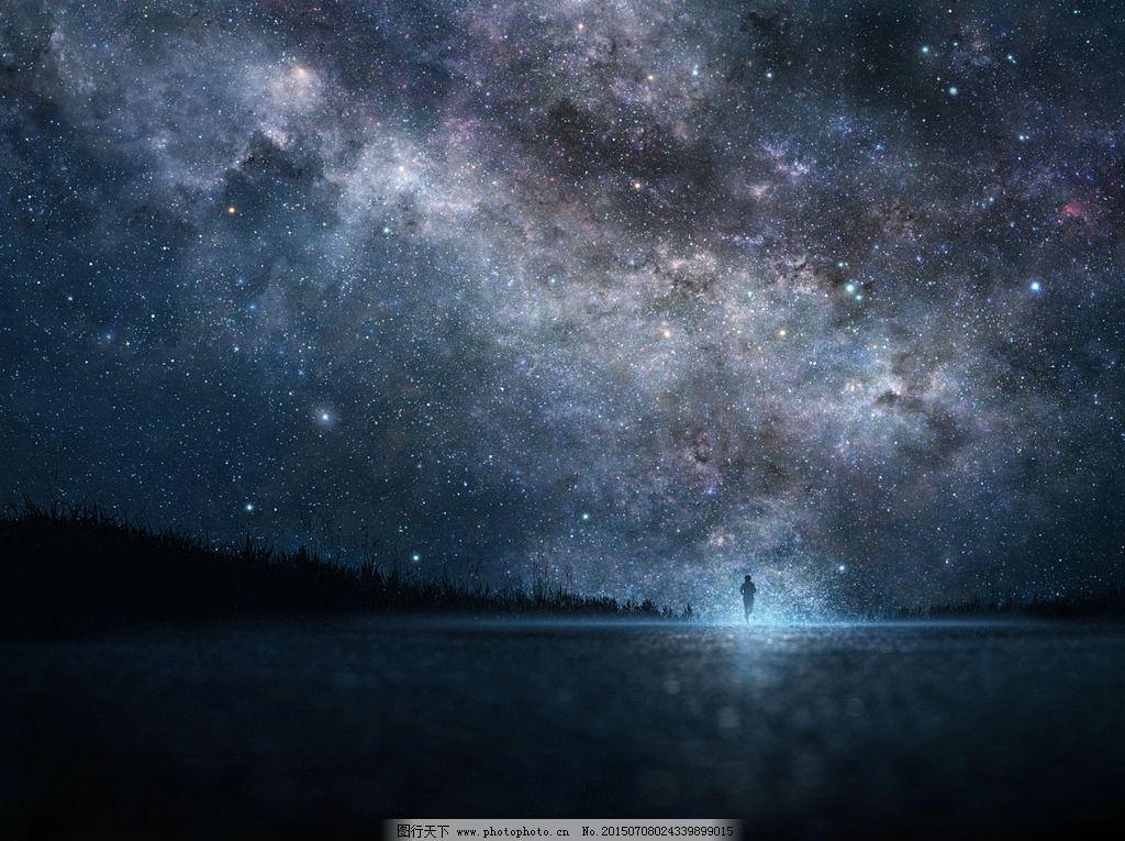 背景图片 星空图片 手绘 动漫 背景 设计 自然景观 其他 72dpi jpg