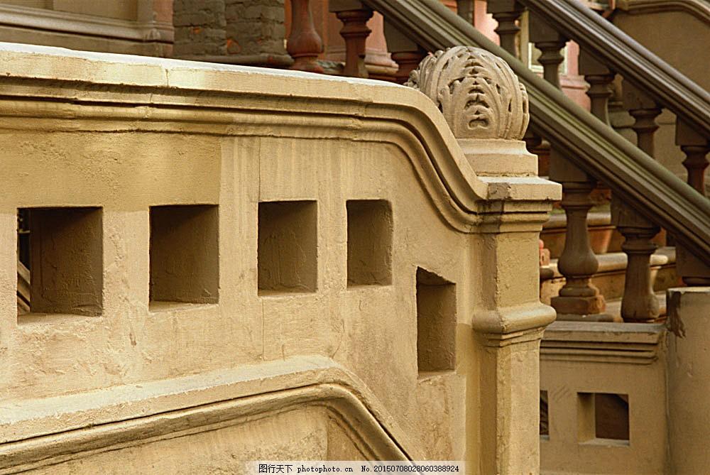 国外建筑 欧式建筑 欧洲建筑 建筑物 古典建筑 石柱 柱子 石栏杆 建筑
