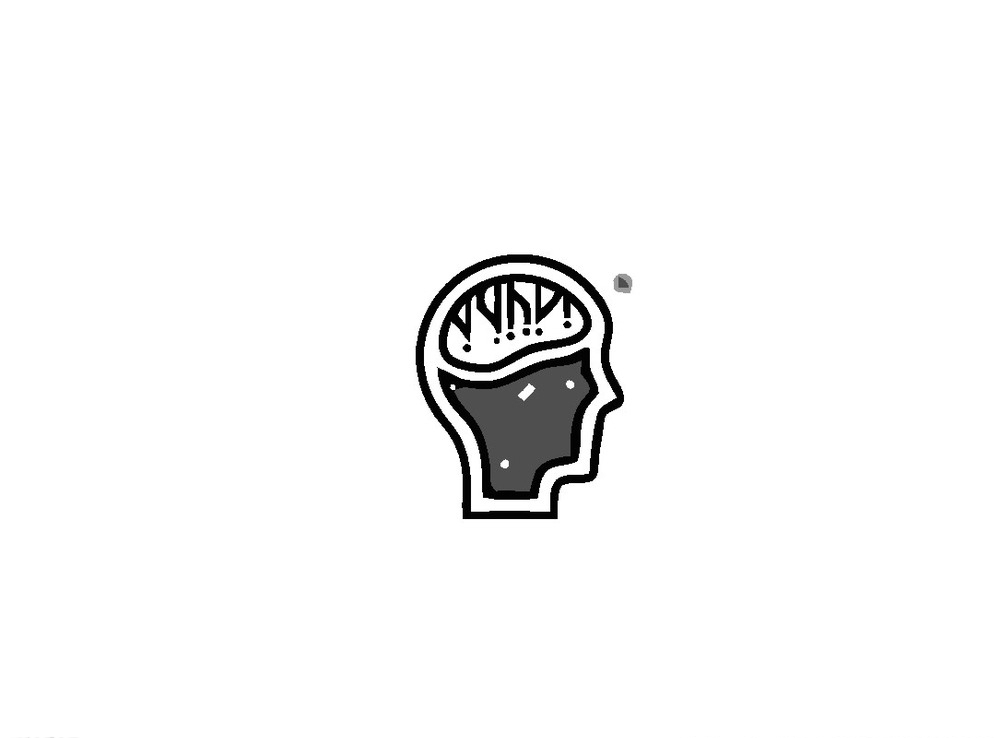 脑logo 版式 标记 标牌 标签 大脑 人脑 脑袋 标志 图标