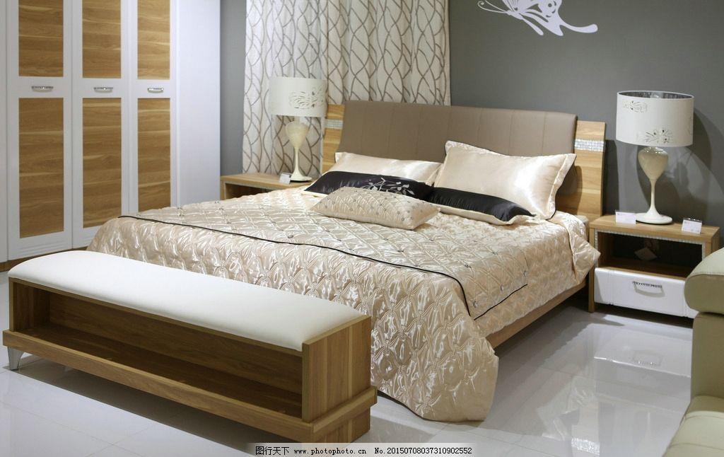 现代原木家具图片