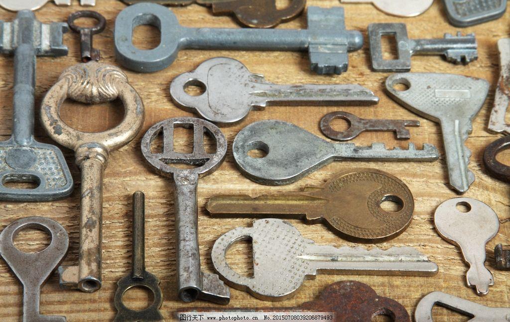 复古 欧式 钥匙图片