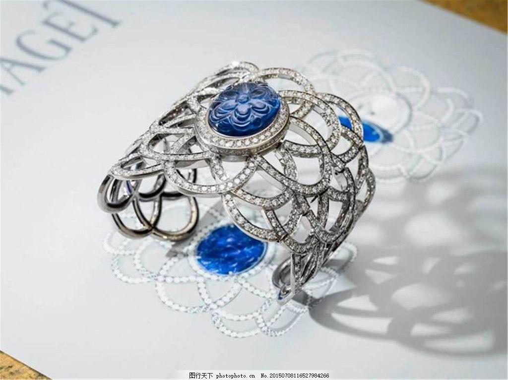 手绘漂亮珠宝图片设计