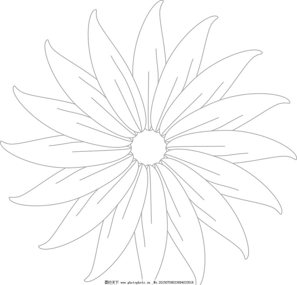 花边 花朵 矢量 花瓣 可换 设计 其他 图片素材 cdr