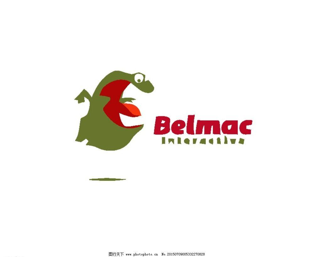 卡通logo 版式 标记 标牌 动物 可爱 趣味 标志 图标 标志设计