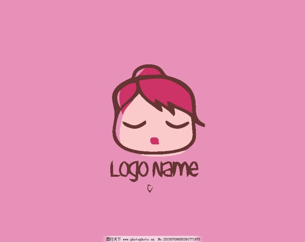 vis 版式 标记 标牌 卡通 动物 可爱 q版 趣味      标志 图标 logo