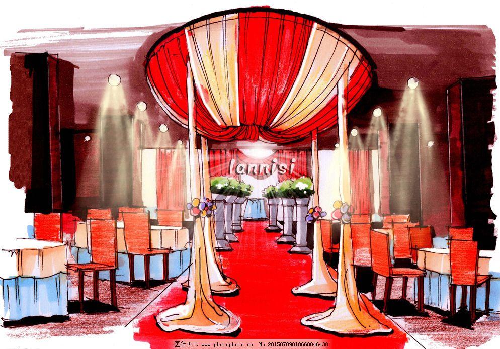 婚礼手绘学习 设计分享 设计 环境设计 舞美设计 500dpi jpg 装饰素材