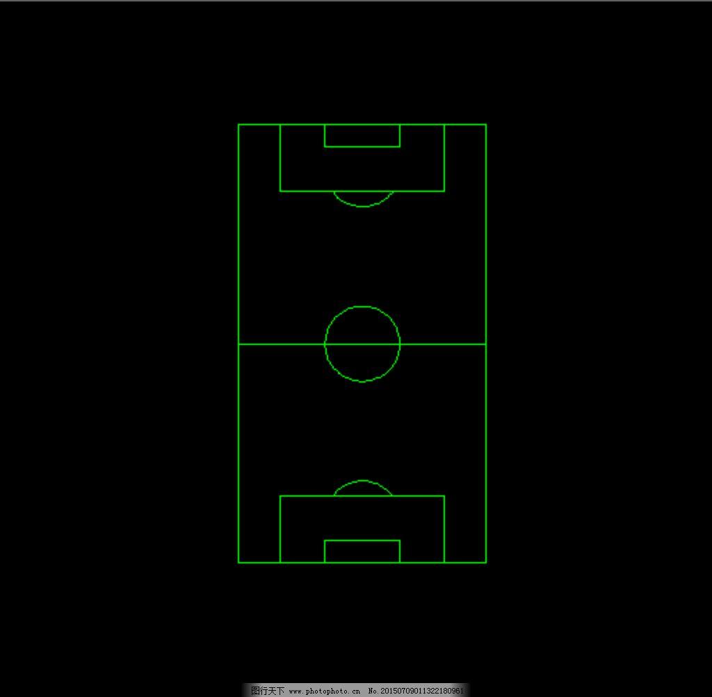 学校标准足球操场图片_室内设计_装饰素材_图行天下
