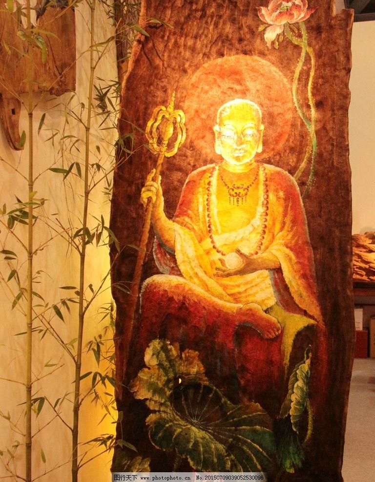 地藏菩萨 佛像 菩萨 木雕 根雕 尊者 佛 摄影 禅意一角 摄影 文化艺术