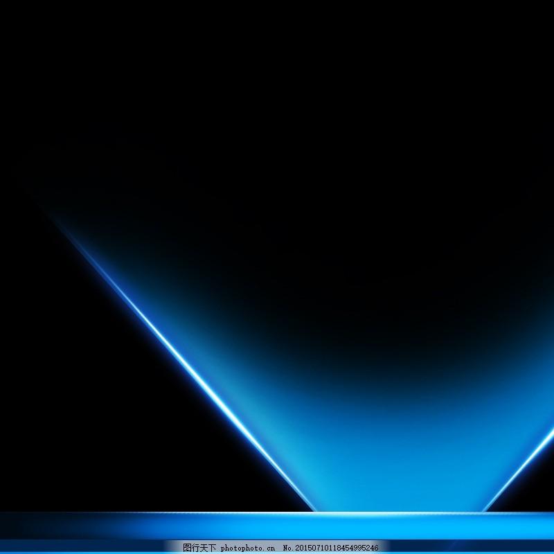 简约蓝色渐变背景图