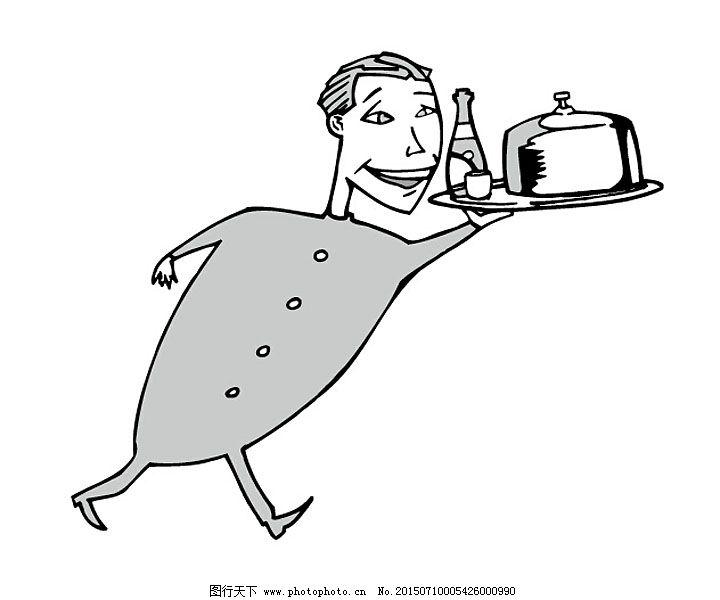 卡通人物 漫画 漫画人物 配图 手绘 卡通 插画 手绘 报纸配图 线稿 粉