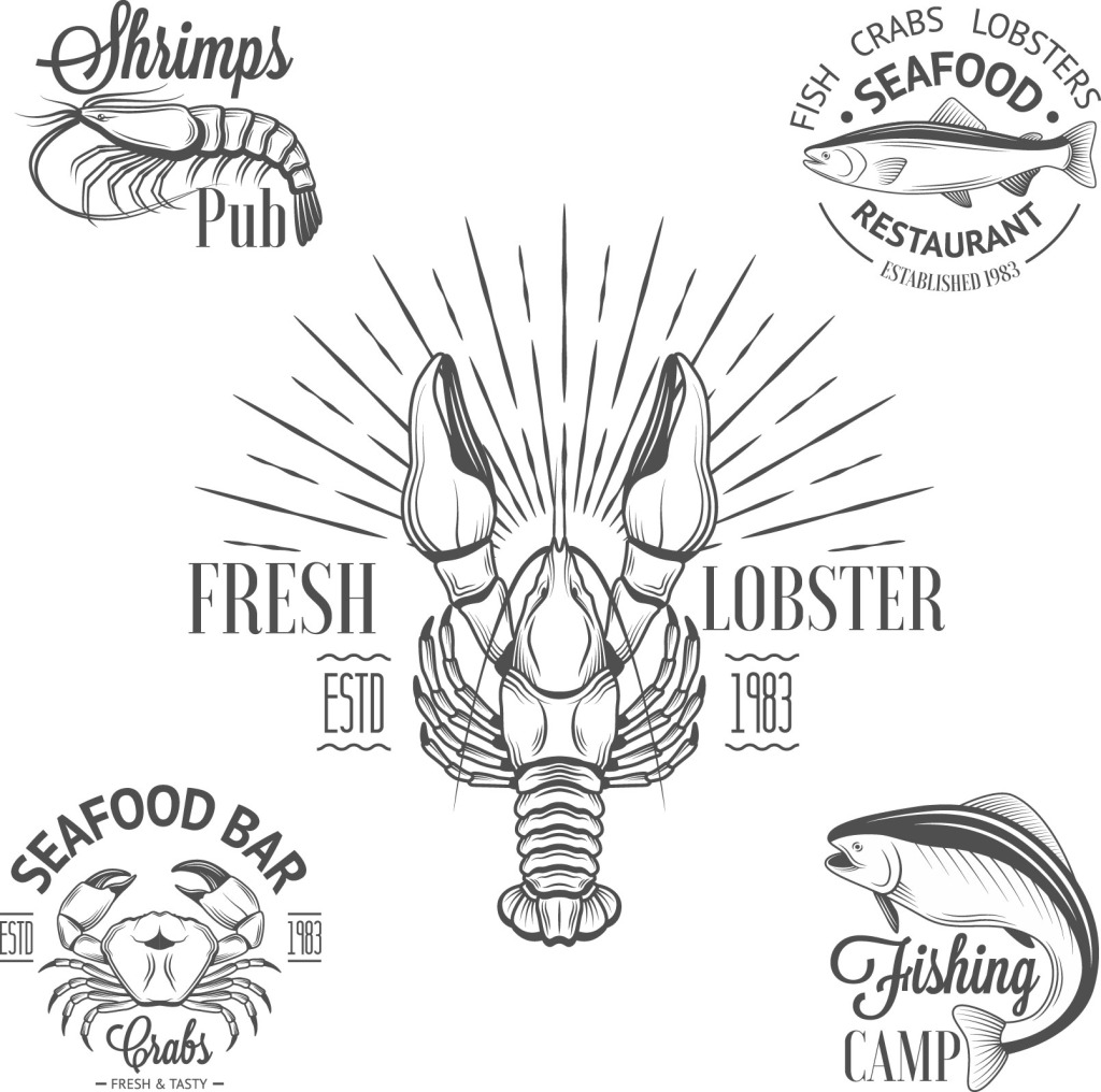 矢量小龙虾免费下载 美味
