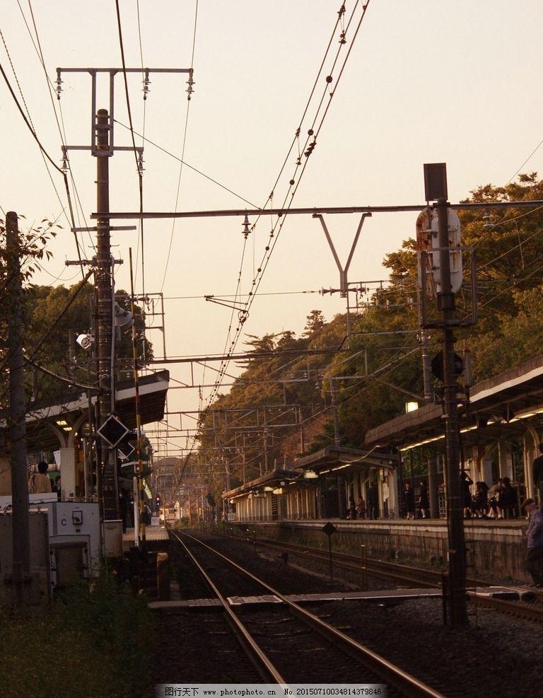 火车站台图片
