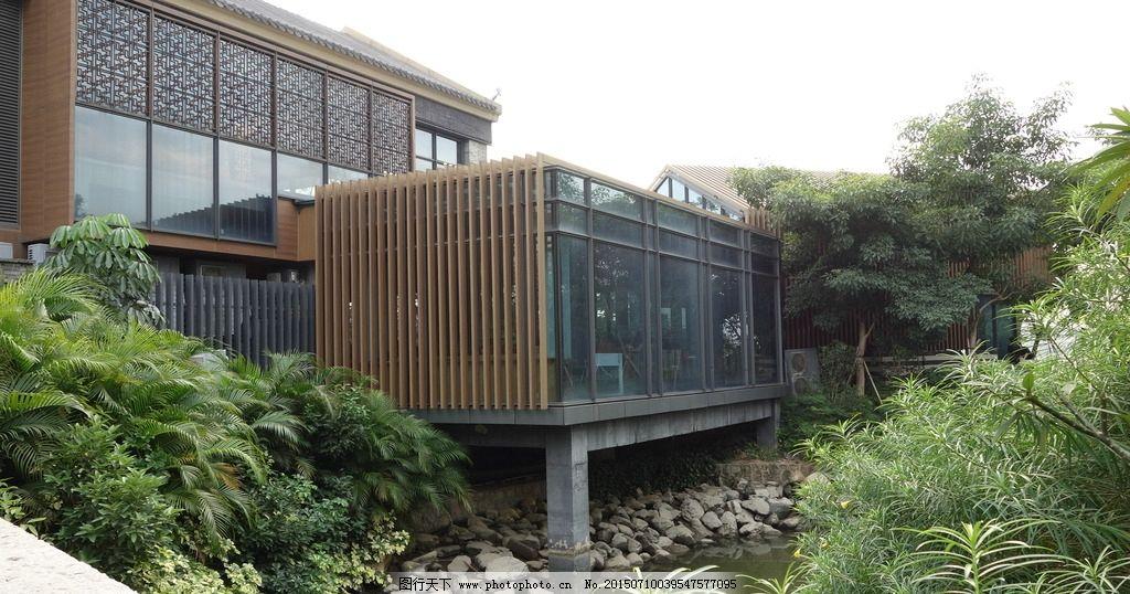 新中式园林别墅景观分享展示