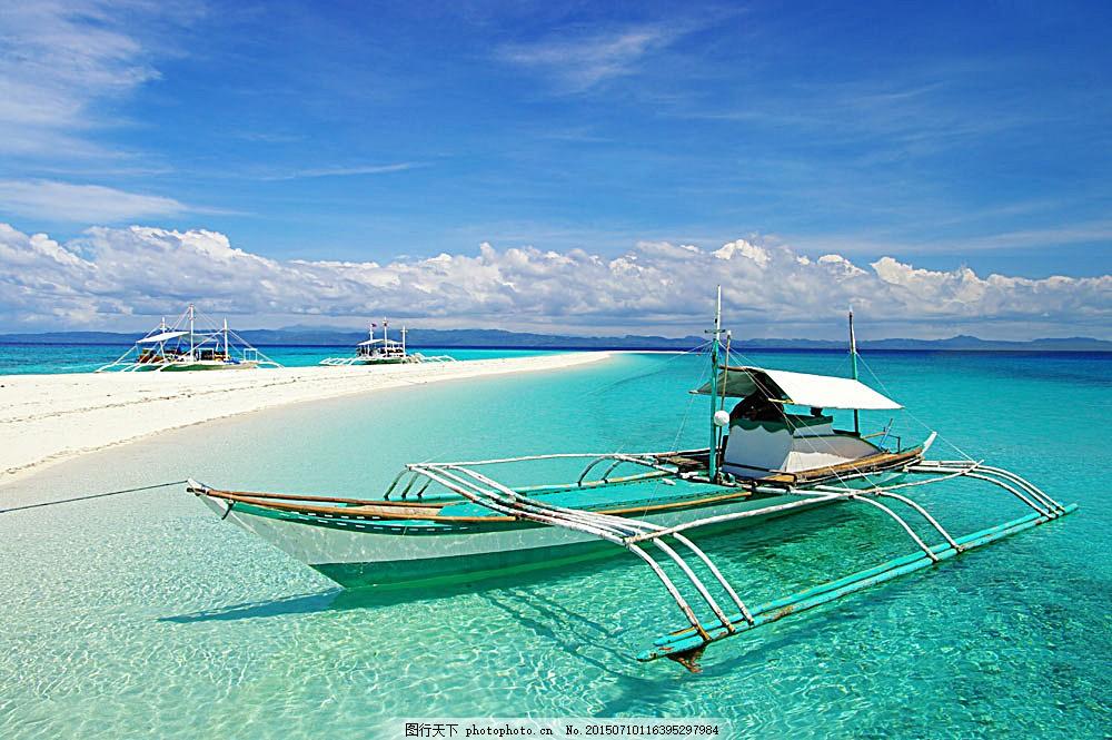 美丽热带海滩风景