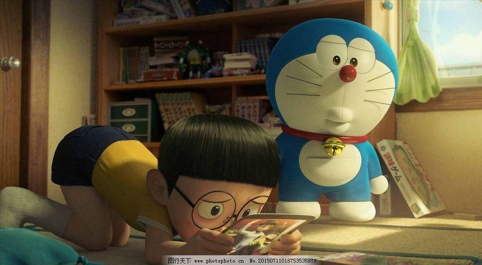 动漫人物 哆啦a梦 设计 书房 哆啦a梦 大熊 伴我同行 蓝胖子 3d 电影
