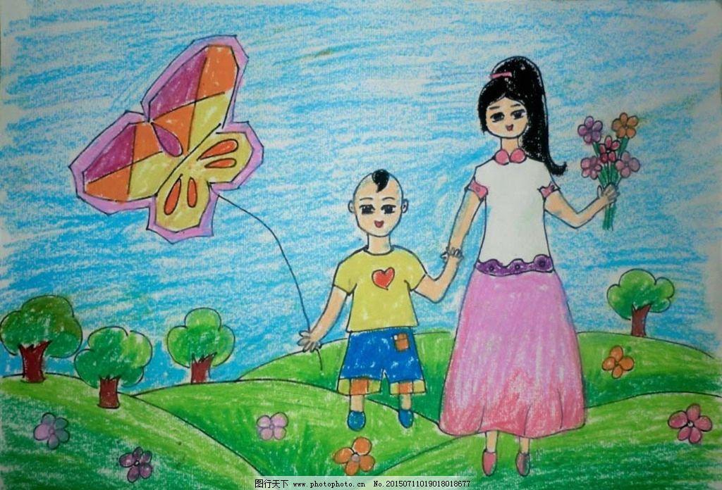 幼儿油画棒画图片