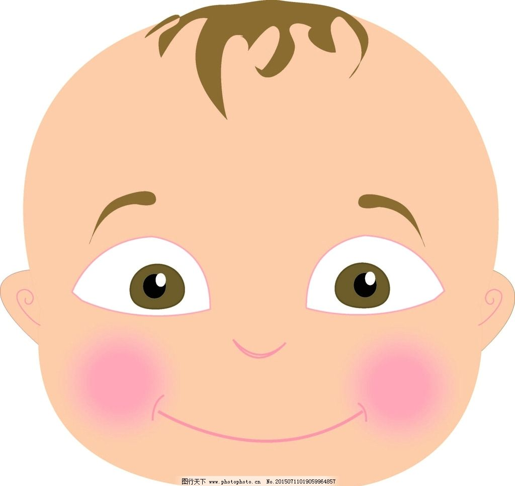 乖宝宝 婴儿 可爱 童装 男婴 卡通 设计 文化艺术 绘画书法 ai